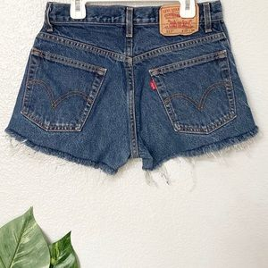 NWOT 517 vintage Levis shorts cutoffs size 29
